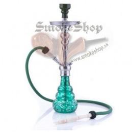 Vodná fajka Saigon (zelená) 66cm