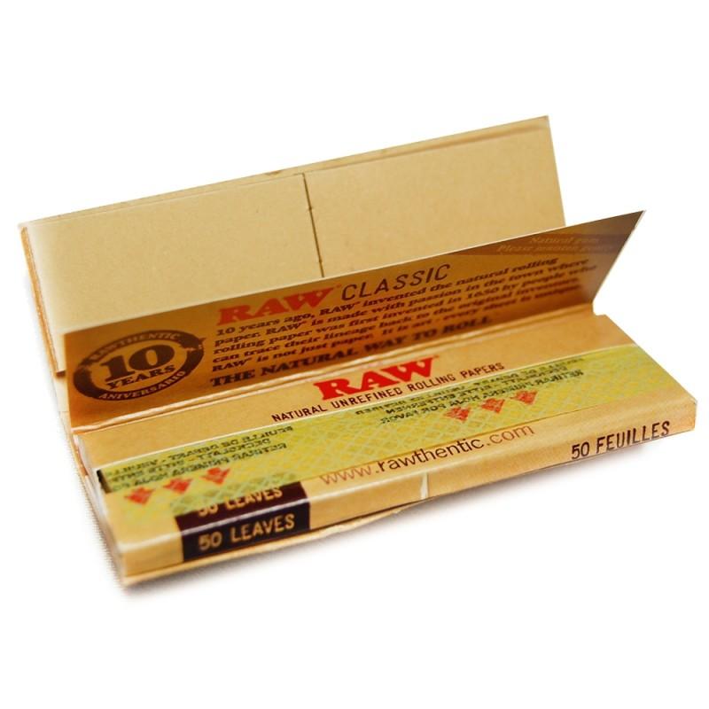Cigaretové papieriky RAW Organic Connoisseur 1/4 + filtre