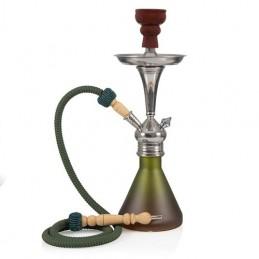 Vodná fajka Bogota (hnedo-zelená) 48cm Aladin