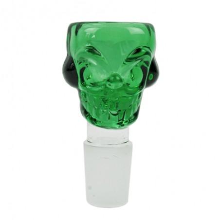 Bong ND šluk skull green