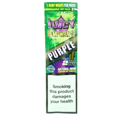 Juicy Hemp Wraps - Purple (Hrozno)