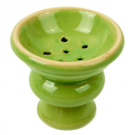 Korunka na vodnú fajku Smoke Mini green