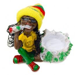Keramický Rastafarián popolník