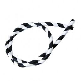 VF ND hadica DUD silikón black/white