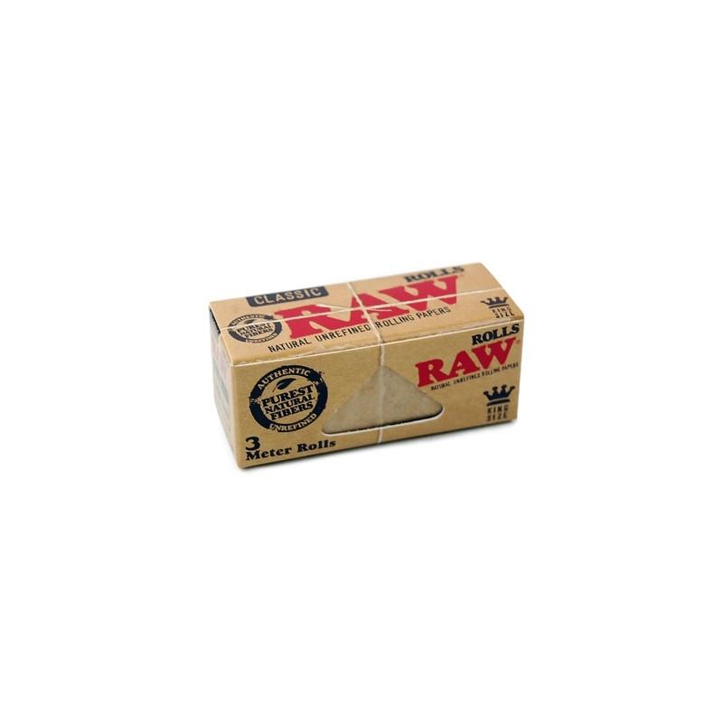Papieriky RAW ROLLS 3m