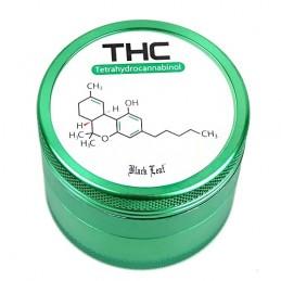 Grinder drvička THC 4 dielna Black Leaf