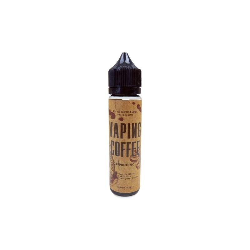 Liquid - Vaping Coffee Cappuccino 50ml