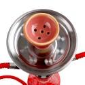 Vodná fajka Habibi 50cm - červená