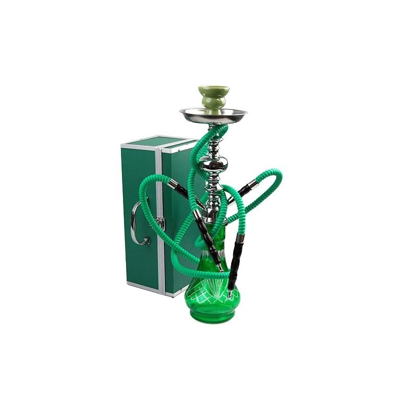 Vodná fajka Habibi 50cm - zelená