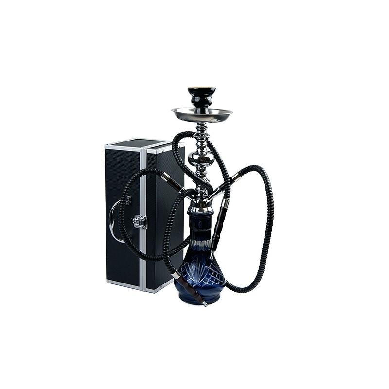 Vodná fajka Habibi 50cm - čierna