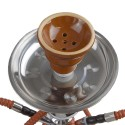 Vodná fajka Habibi 50cm - hnedá