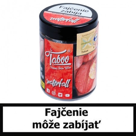 Taboo tabak do vodnej fajky - Waterfall (ice červený melón)