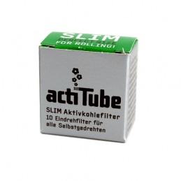 Uhlíkové filtre ActiTube - Slim 10 ks