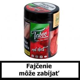 TABOO TABAK DO VODNEJ FAJKY - RED BLAST (Mäta a malina)