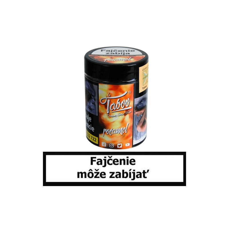 TABOO TABAK DO VODNEJ FAJKY -ROCAMEL (Karamel)