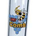Bong 2x Honeycomb Ice 38cm