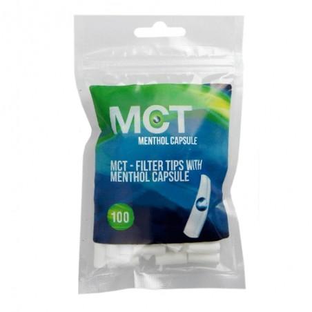 Cigaretové filtre MCT Menthol Capsule