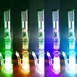 Big Bong Grace Glass Clear Green