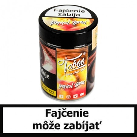 TABOO TABAK DO VODNEJ FAJKY - Tropical (Mäta, broskyňa, guava, kokos, ananás)