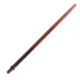 Drevená náustok na hadicu vodnej fajky - hladký 38cm