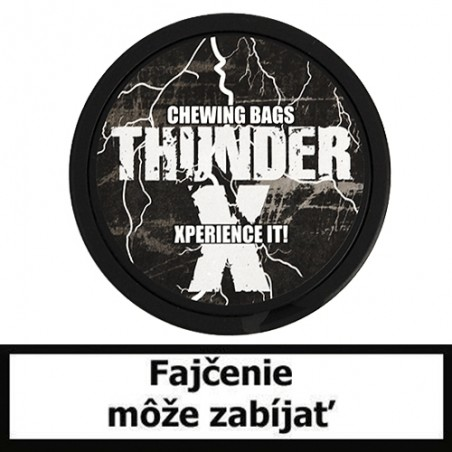 Žuvací tabak Thunder X Chewing Bags Frosted 13,2g Snus