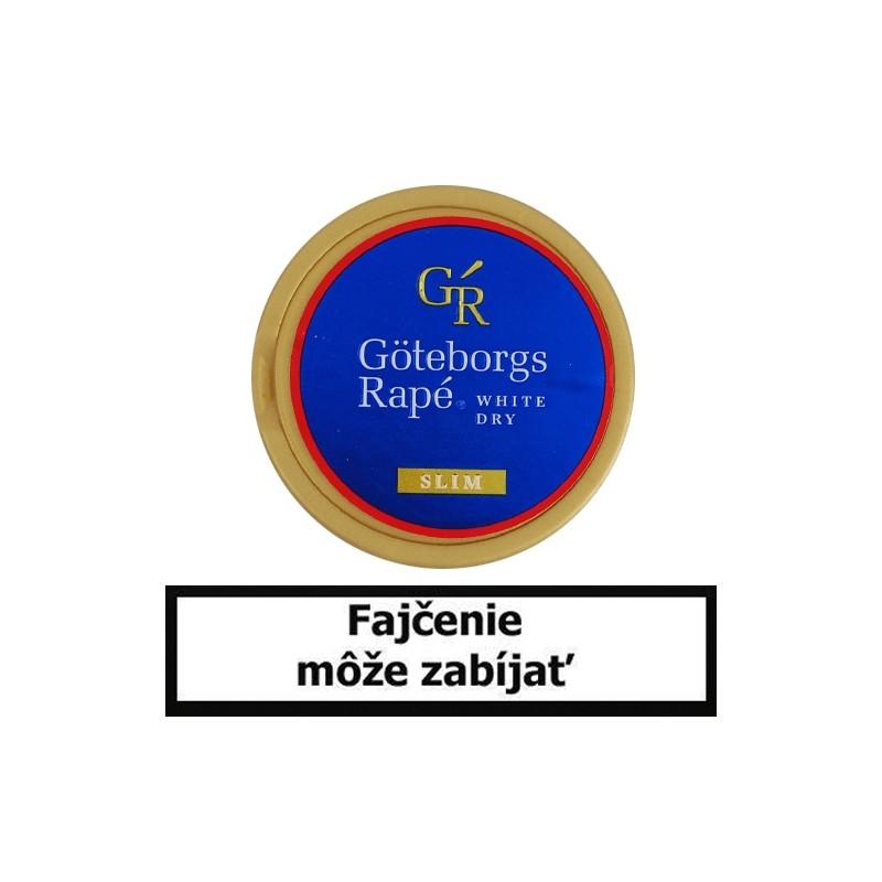 Žuvací tabak Goteborgs Rapé White Dry Slim 13,2g Snus