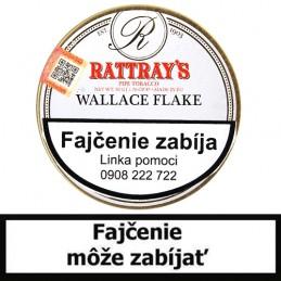 Fajkový tabak Rattrays Wallace Flake 50g (Peterson University Flake)