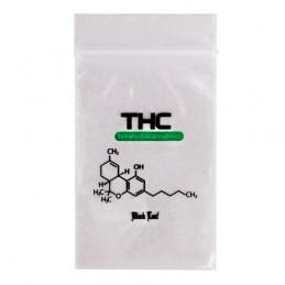 Zip THC Black Leaf 40x60mm