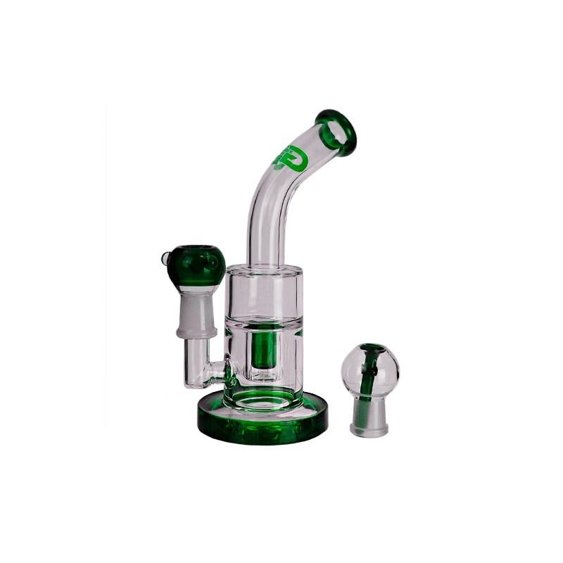 Bong GG Saxo Buvvler Green 21cm