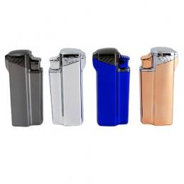Cigarový zapaľovač 3-tryskový mix farieb