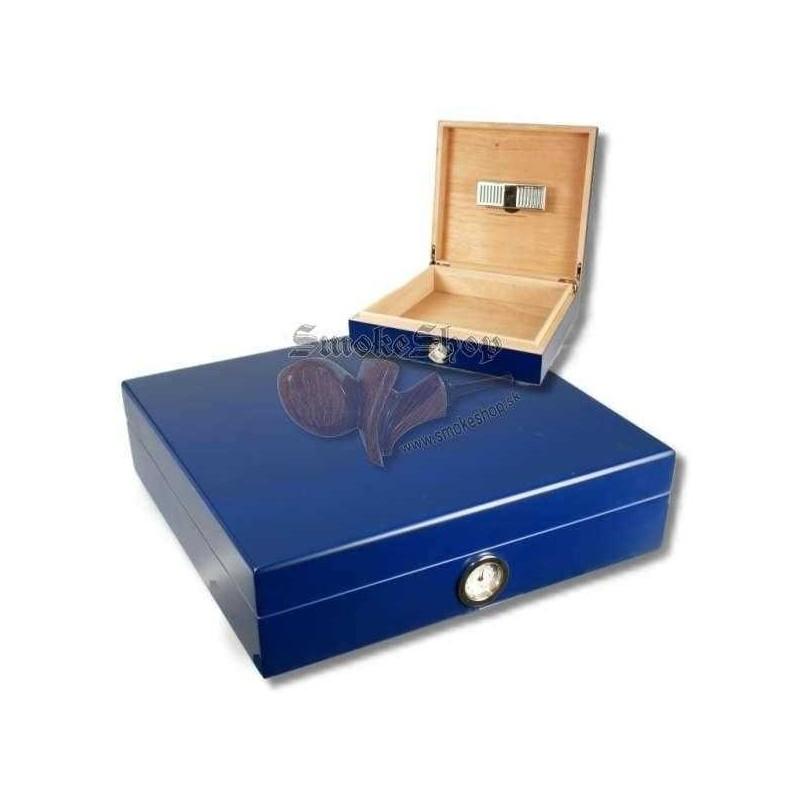 Humidor na cigary Office Blue 25