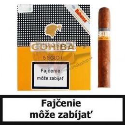 Cigary COHIBA SIGLO I. - Balenie 5 ks