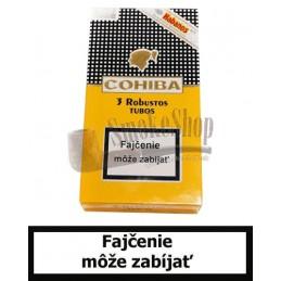 Cigary COHIBA SIGLO IV. TUBOS - Balenie 3 ks