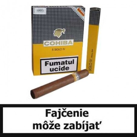 Cigary COHIBA SIGLO IV. - Balenie po 5