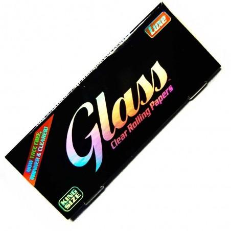 Papieriky GLASS transparent KS
