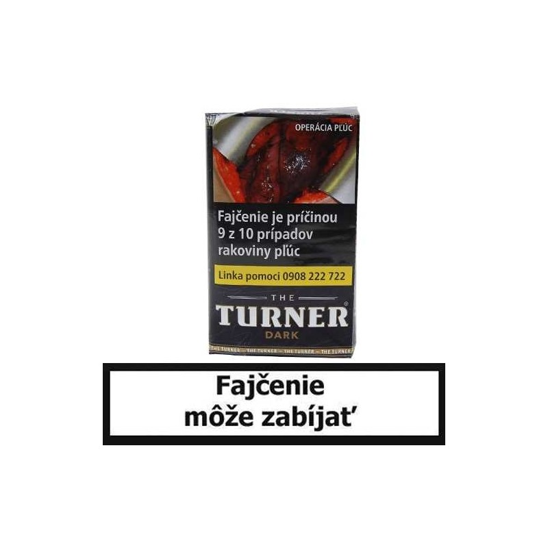 Cigaretový tabak Turner 40g (Dark)