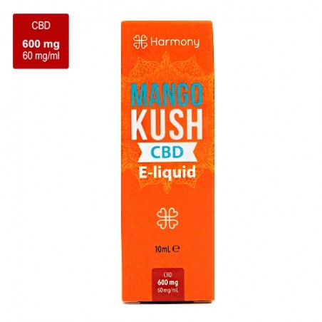 CBD e-liquid HARMONY 600 mg / 10 ml - Mango Kush