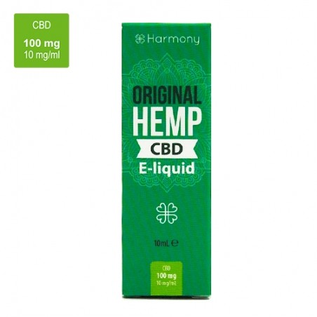 CBD e-liquid 100 mg / 10 ml -  Original Hemp