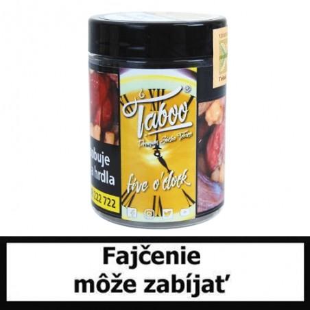 TABOO Tabak do vodnej fajky - Five o'clock (Šťavnatý citrón)