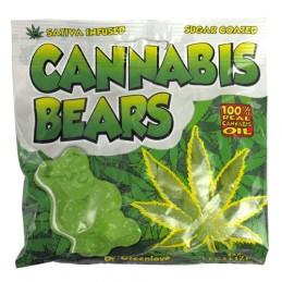 Gumené medvedíky Cannabis Bears 100 g