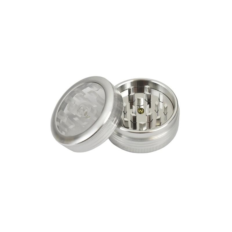 Grinder dvoj-dielny IQ Silver