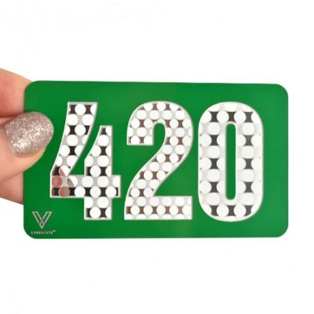 Grinder karta Green Card 420 - Drvička