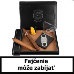 Perdomo Luxury Humidor SET (black)