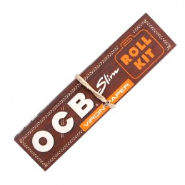 Cigaretové papieriky OCB King Size Slim Natural - Roll Kit