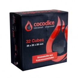 Prírodné kokosové uhlie do vodnej fajky Cocodice C26 - 0,5 kg