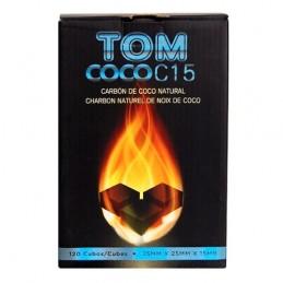 Kokosové uhlie TOM COCO 1kg Modré
