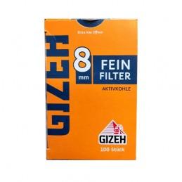 Cigaretové Filtre GIZEH 100ks Inhalt 8 mm