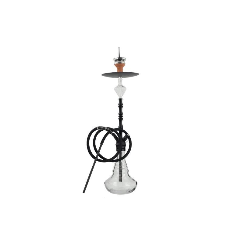 Vodná fajka DUD Shisha Hercules 85 cm - čierna