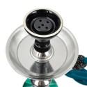 Vodná fajka Aladin Roy 45 cm - Tyrkysová