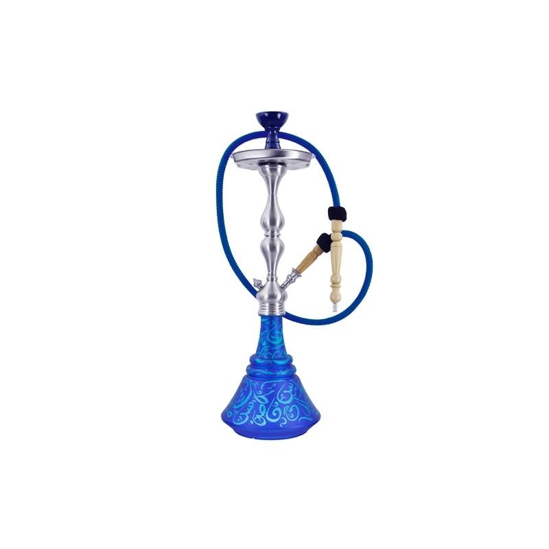 Vodná fajka Aladin Roy 30 65 cm Modro - Tyrkysová